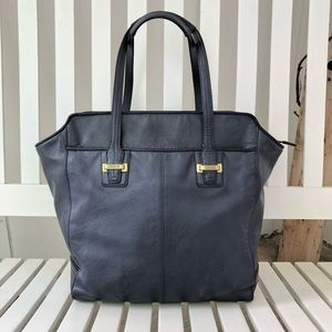 Leather Coach Taylor North South Carryall Tote